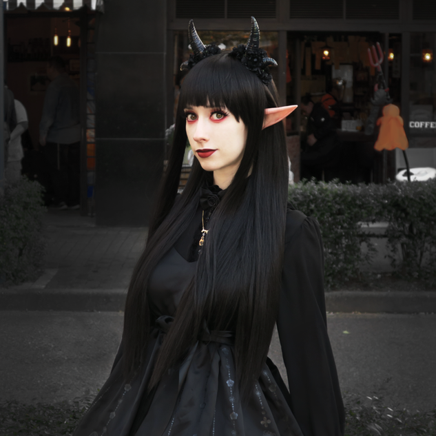Original demon cosplay  Photo by Takao Senga