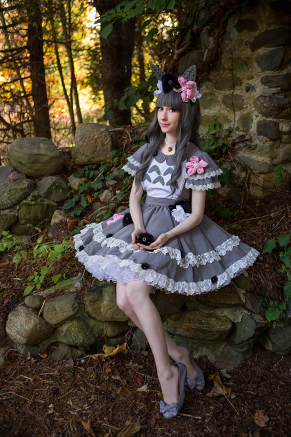Cosplay inspired by Tonari no Totoro  Photo by Marie-France Dorval Photographe