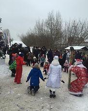 Бесплатное новогоднее представление клуба Ферзь