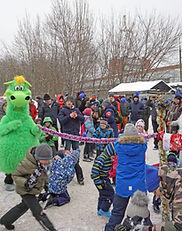 Новогоднее представление, елки для детей в клубе Ферзь