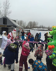 Новогоднее представление для детей, клуб Ферзь