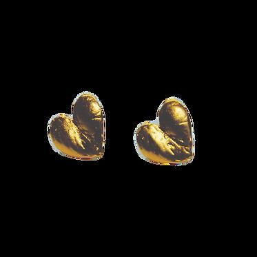 Milagro Heart Stud Earrings