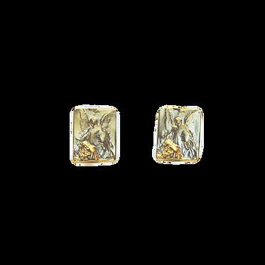 Guardian Angel Stud Earrings