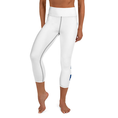 Designer Yoga Capri Leggings by SKETCH