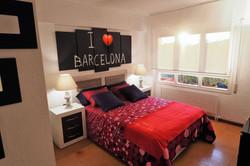 Bedroom I: 1 double bed, en-suite, w