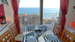 fantastic seaview from the apartment