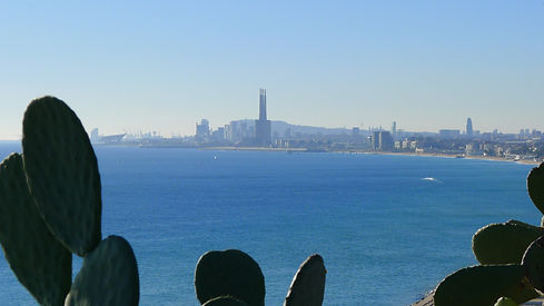 Skyline of Barcelona