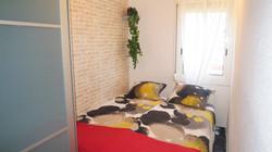 """""""bedroom III"""": 1 double bed, wardrob"""