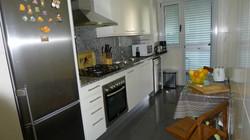 Kitchen fully equipped, washing machine, dryer
