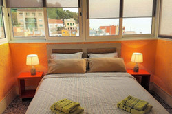 Bedroom I 1 double bed, sea view,