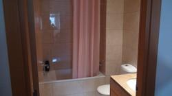 """""""bathroom II"""": basin, bath tube."""