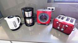 kettle, coffee, toaster