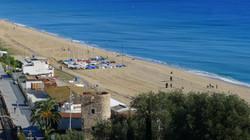 beach of Montgat (Barcelona)