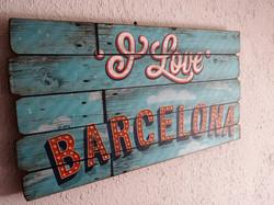 I LOVE BARCELONA