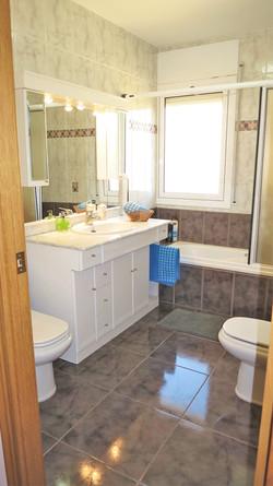 Bathroom I__ bath-tube_shower, bidet, hair dryer