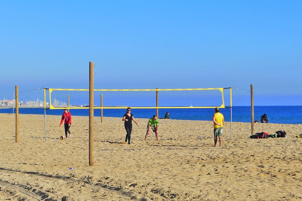 Sport at the beach