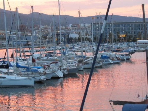 Marina of Mataró, rent-a-boat.