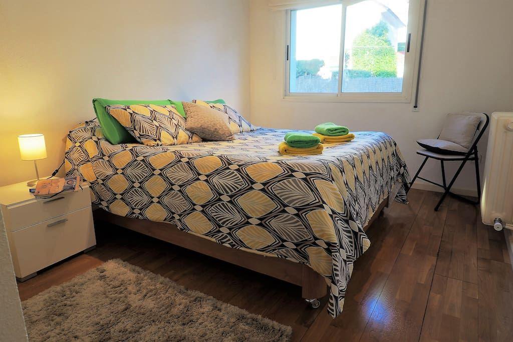 Bedroom III 1 double bed, wardrobe