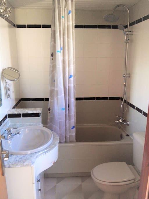 Bathroom, bath-tube,shower, bidet