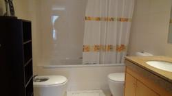"""bathroom I"": double basin, bath tube, bidet"