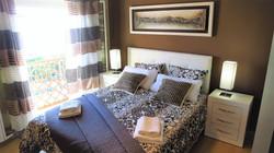 Bedroom I: double bed, balcony, ward