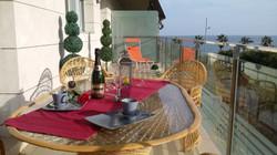 outdoor dinner
