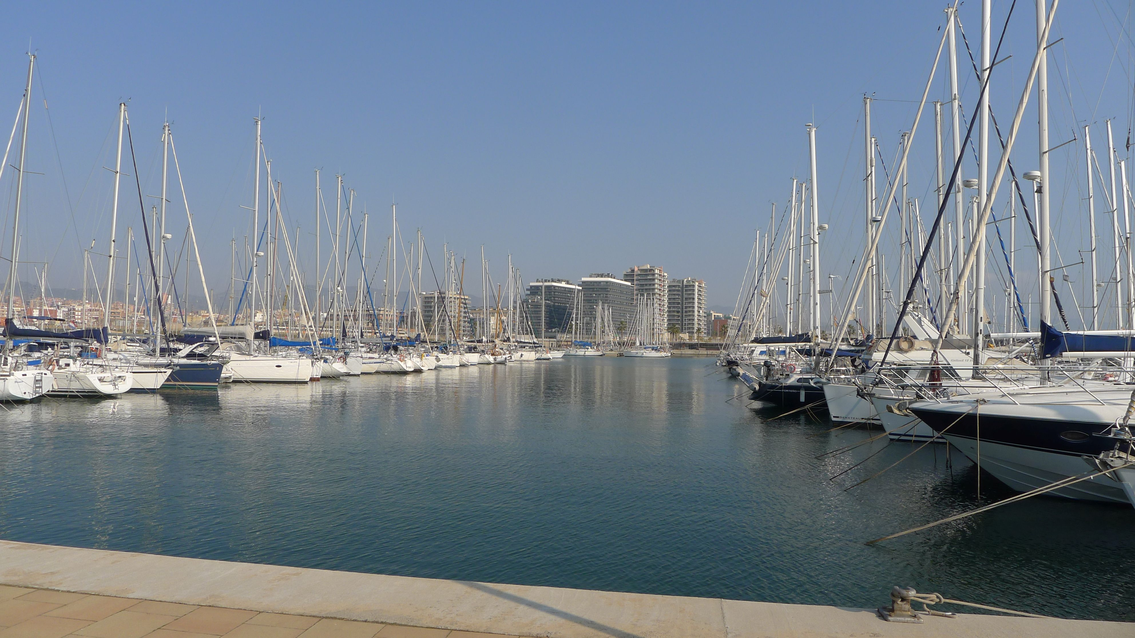 Marina Port (a 5-minutes-walk from the apartment)