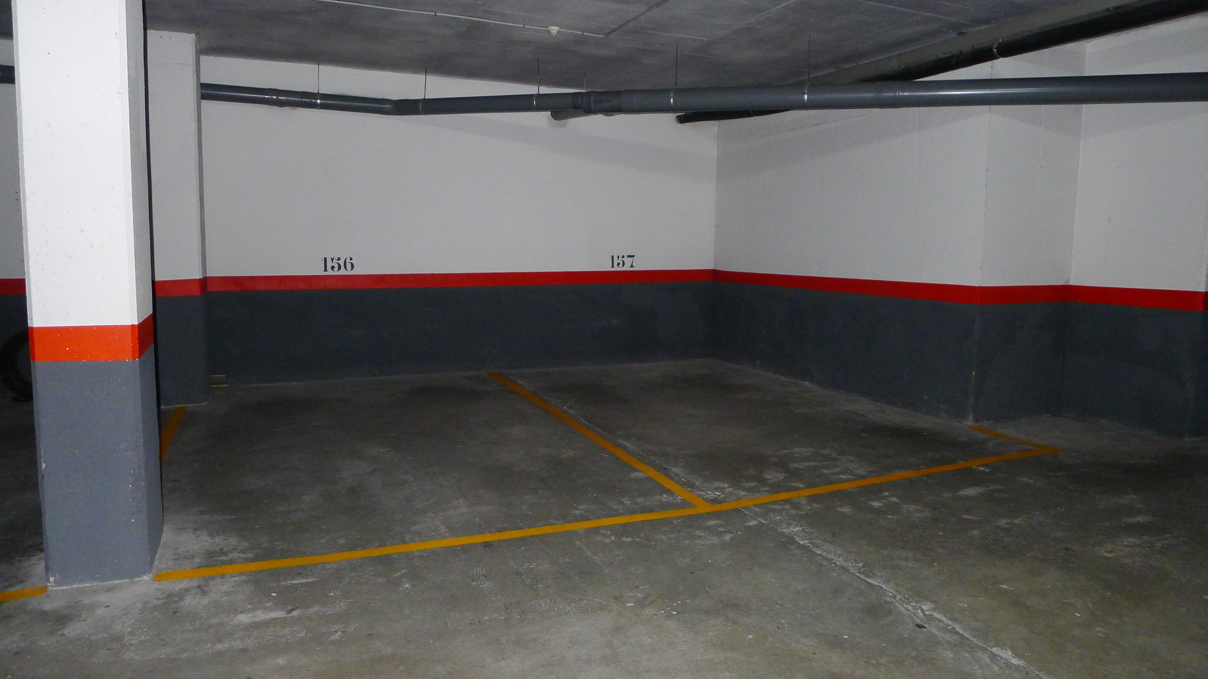 2 safe parking places in the underground garage