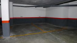 2 safe parking places in the underground garage