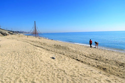 Beach of  Montgat, within 8 minutes by car