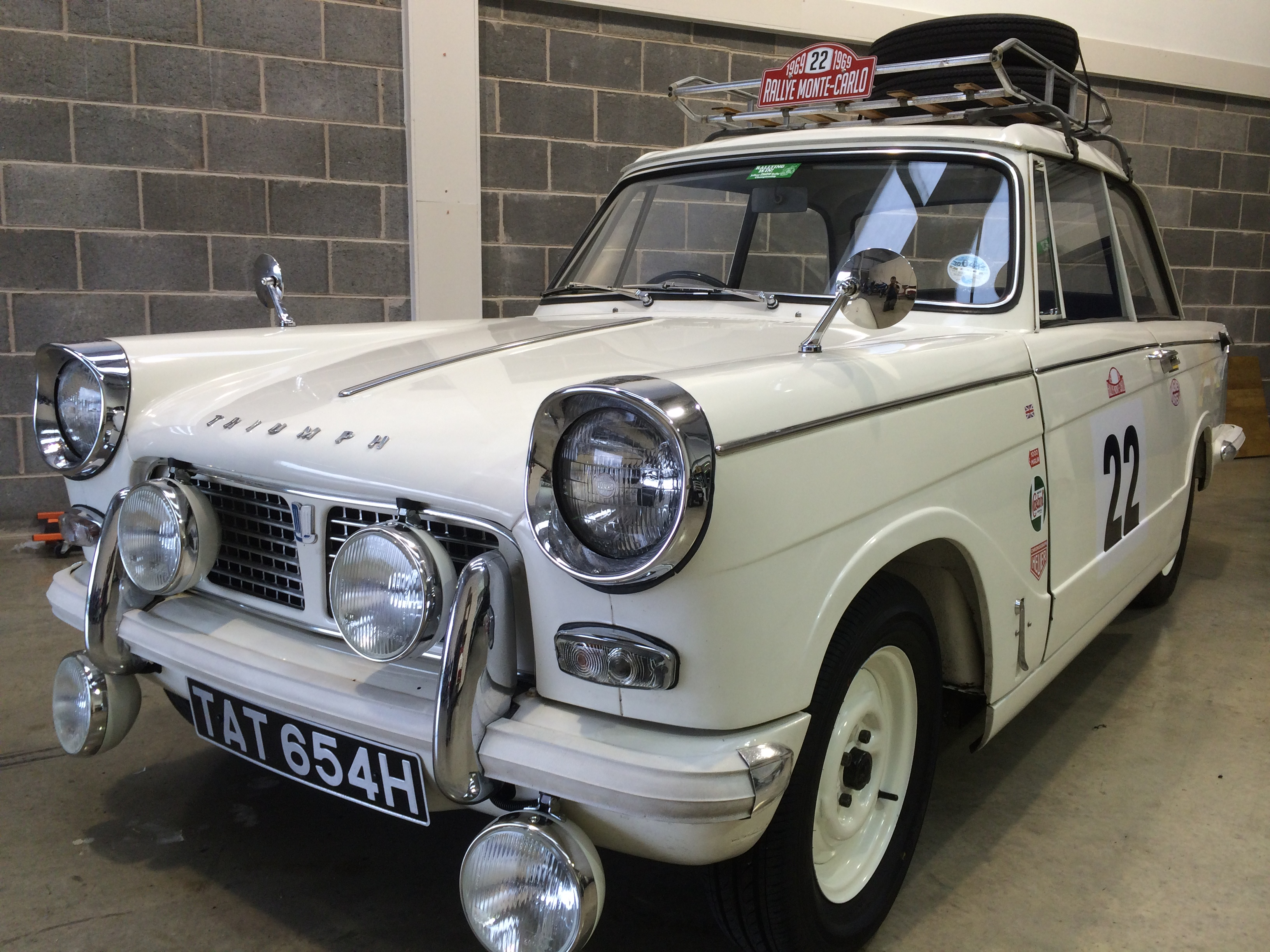 1969 Triumph Herald Rally car