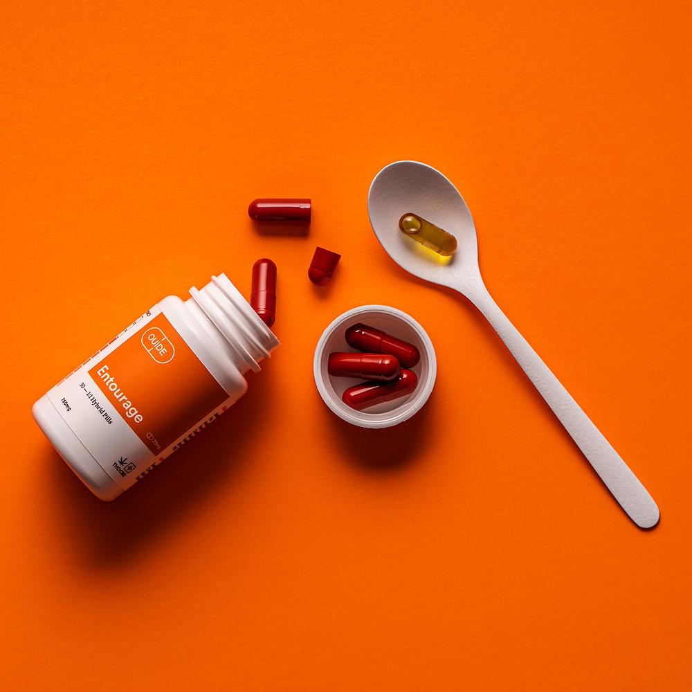 OUIDE Wellness Entourage Effect CBD pills