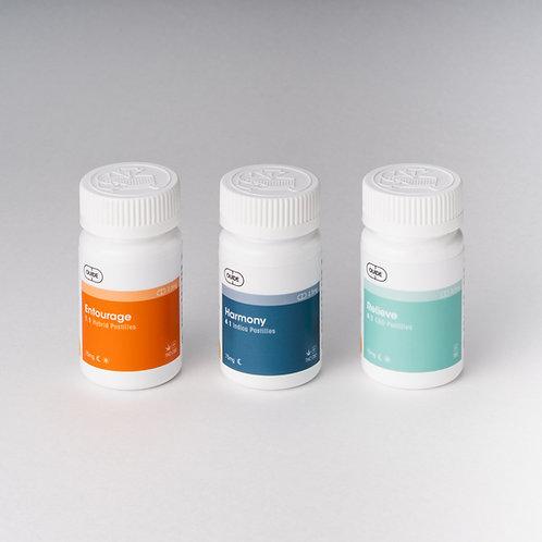 MICRO Bundle 3 Pack - Entourage, Harmony, Relieve Pastilles