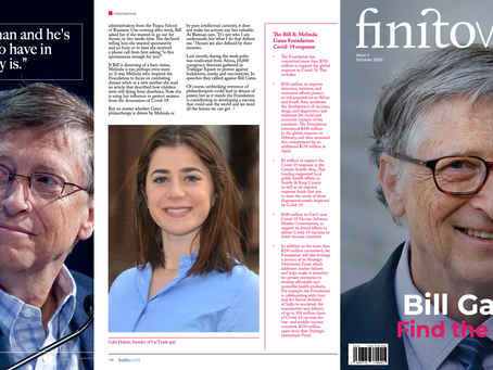 FinitoWorld Features VacTrack Alongside Bill Gates