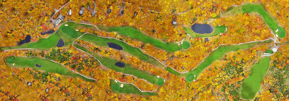 Frye Island Golf Club, new england, foliage, maine, golf, orthomosaic, mapping, photogrammetry