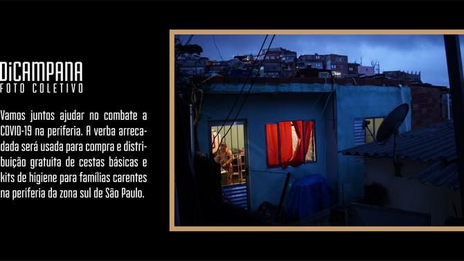 DiCampana rifa quadro com objetivo de arrecadar verba e comprar alimentos para famílias na periferia