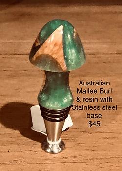 Australian Mallee Burl Wine Stopper.jpg