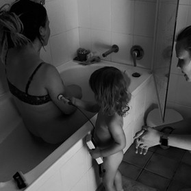 Apprentice midwife.