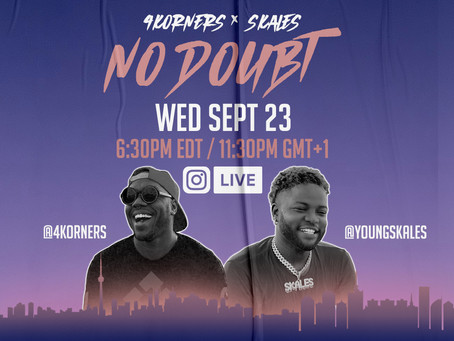 IG LIVE w/ SKALES Wed Sept 23