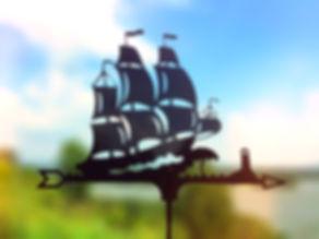 Флюгер корабль