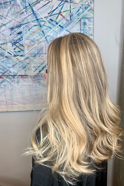 Beautiful highlights and waves