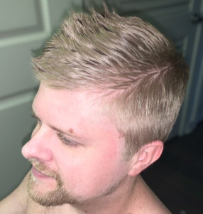 Men's cut for a clean look