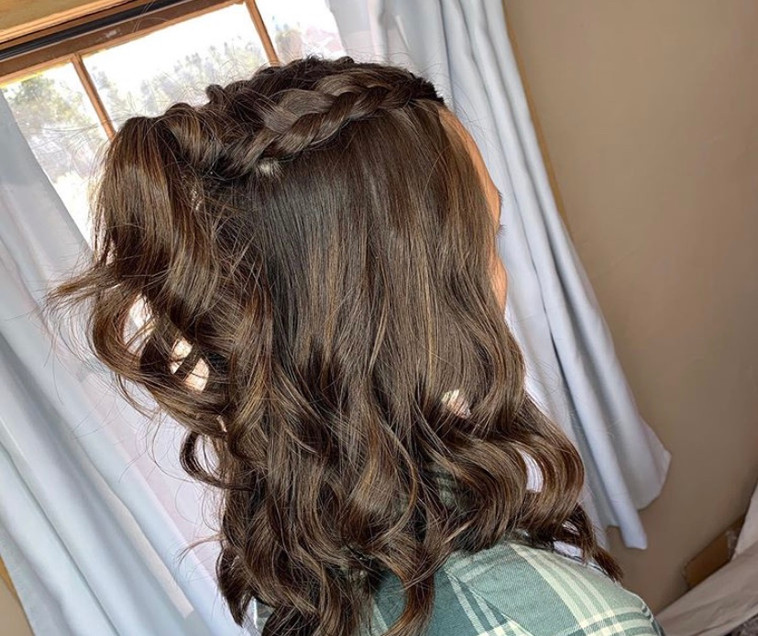 top braids and waves