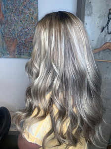 Silvery highlights