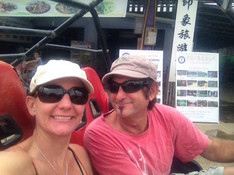 Kate and Dave in Thailand