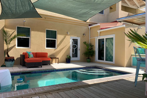 Entry and Poolside Treatment Room