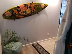 Surfboard art by Daniel Pinto