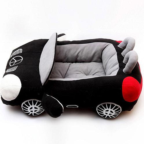 Cama coche deportivo, black