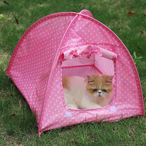 Tienda de campaña, rosa