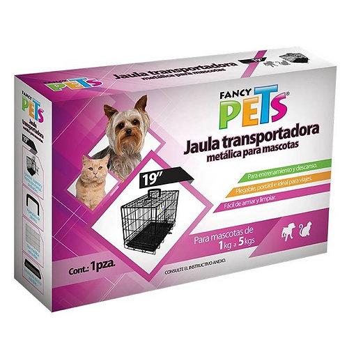 "Jaula plegable 19"" FANCY PETS"